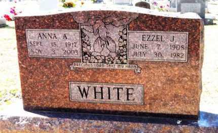 WHITE, ANNA A - Ashley County, Arkansas | ANNA A WHITE - Arkansas Gravestone Photos