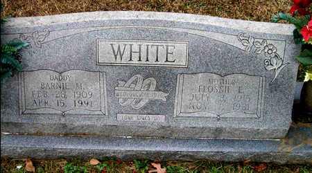 WHITE, FLOSSIE E - Ashley County, Arkansas | FLOSSIE E WHITE - Arkansas Gravestone Photos