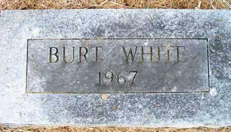 WHITE, BURT - Ashley County, Arkansas | BURT WHITE - Arkansas Gravestone Photos