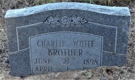 WHITE, CHARLIE - Ashley County, Arkansas | CHARLIE WHITE - Arkansas Gravestone Photos