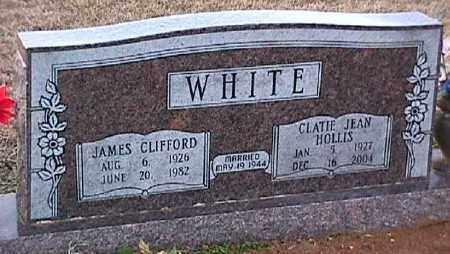 WHITE, CLATIE JEAN - Ashley County, Arkansas | CLATIE JEAN WHITE - Arkansas Gravestone Photos