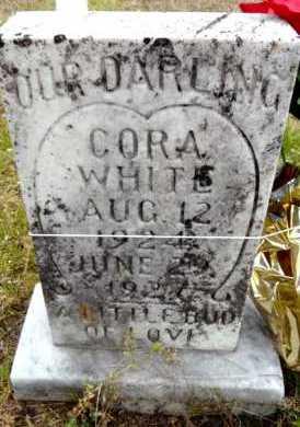 WHITE, CORA - Ashley County, Arkansas | CORA WHITE - Arkansas Gravestone Photos