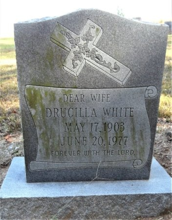 WHITE, DRUCILLA - Ashley County, Arkansas | DRUCILLA WHITE - Arkansas Gravestone Photos