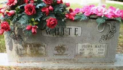 WHITE, FLORA MAE - Ashley County, Arkansas   FLORA MAE WHITE - Arkansas Gravestone Photos