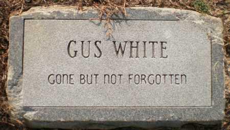 WHITE, GUS - Ashley County, Arkansas   GUS WHITE - Arkansas Gravestone Photos