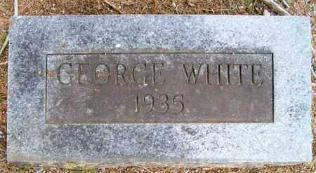 WHITE, GEORGE - Ashley County, Arkansas | GEORGE WHITE - Arkansas Gravestone Photos