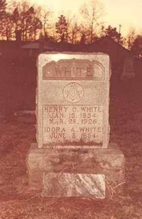 FOSTER WHITE, IDORA - Ashley County, Arkansas   IDORA FOSTER WHITE - Arkansas Gravestone Photos