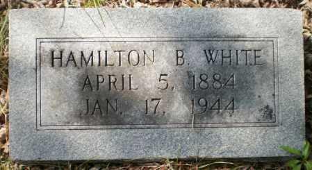 WHITE, HAMILTON B - Ashley County, Arkansas | HAMILTON B WHITE - Arkansas Gravestone Photos