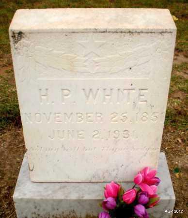WHITE, H P - Ashley County, Arkansas   H P WHITE - Arkansas Gravestone Photos