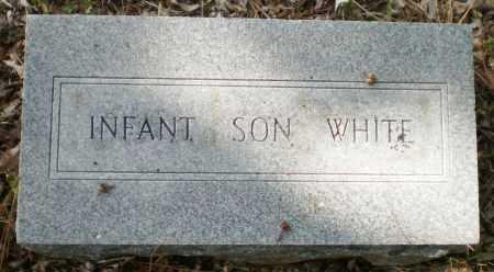 WHITE, INFANT SON - Ashley County, Arkansas | INFANT SON WHITE - Arkansas Gravestone Photos