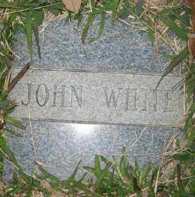 WHITE, JOHN - Ashley County, Arkansas | JOHN WHITE - Arkansas Gravestone Photos