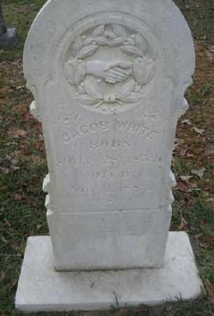 WHITE, JACOB - Ashley County, Arkansas | JACOB WHITE - Arkansas Gravestone Photos