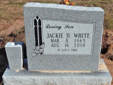 WHITE, JACKIE DEWAYNE - Ashley County, Arkansas | JACKIE DEWAYNE WHITE - Arkansas Gravestone Photos