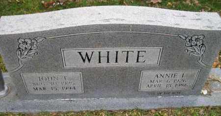 WHITE, ANNIE L - Ashley County, Arkansas | ANNIE L WHITE - Arkansas Gravestone Photos
