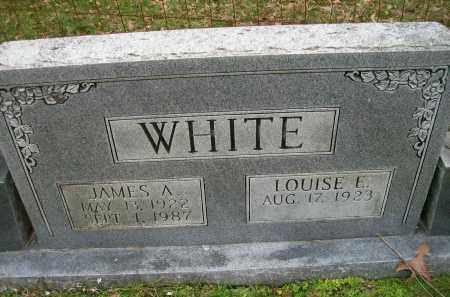 WHITE, JAMES A - Ashley County, Arkansas   JAMES A WHITE - Arkansas Gravestone Photos