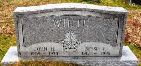 WHITE, BESSIE L - Ashley County, Arkansas | BESSIE L WHITE - Arkansas Gravestone Photos