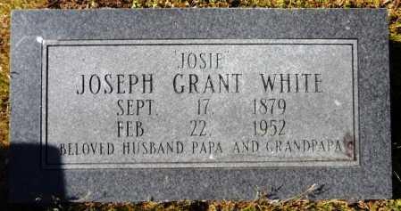 "WHITE, JOSEPH GRANT ""JOSIE"" - Ashley County, Arkansas | JOSEPH GRANT ""JOSIE"" WHITE - Arkansas Gravestone Photos"