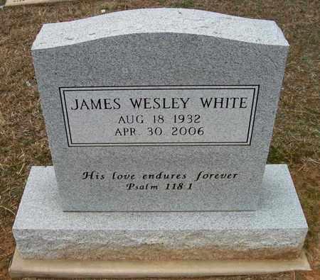 WHITE, JAMES WESLEY - Ashley County, Arkansas | JAMES WESLEY WHITE - Arkansas Gravestone Photos