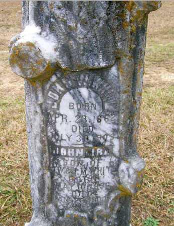 WHITE, JOHN W - Ashley County, Arkansas | JOHN W WHITE - Arkansas Gravestone Photos