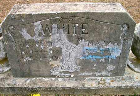 WHITE, MARY J - Ashley County, Arkansas   MARY J WHITE - Arkansas Gravestone Photos
