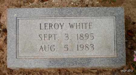 WHITE, LEROY - Ashley County, Arkansas | LEROY WHITE - Arkansas Gravestone Photos