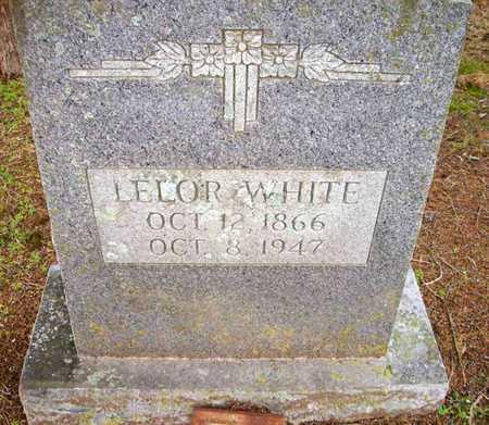 WHITE, LELOR - Ashley County, Arkansas | LELOR WHITE - Arkansas Gravestone Photos