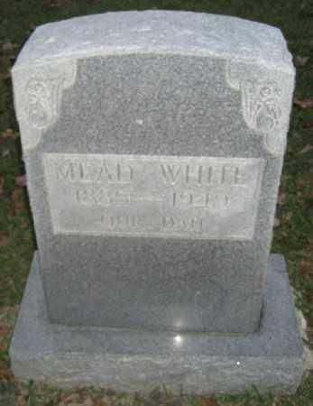 WHITE, MEAD - Ashley County, Arkansas   MEAD WHITE - Arkansas Gravestone Photos