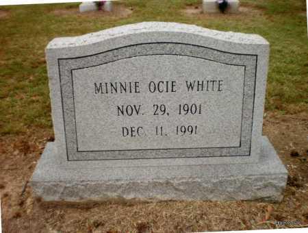 WHITE, MINNIE OCIE - Ashley County, Arkansas   MINNIE OCIE WHITE - Arkansas Gravestone Photos