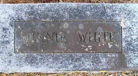 WHITE, MINNIE - Ashley County, Arkansas   MINNIE WHITE - Arkansas Gravestone Photos