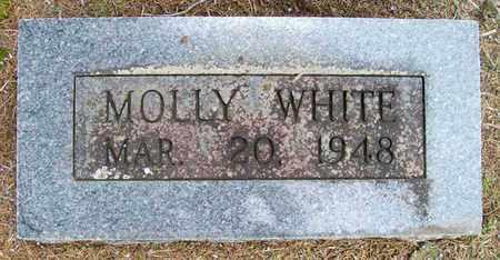 WHITE, MOLLY - Ashley County, Arkansas   MOLLY WHITE - Arkansas Gravestone Photos