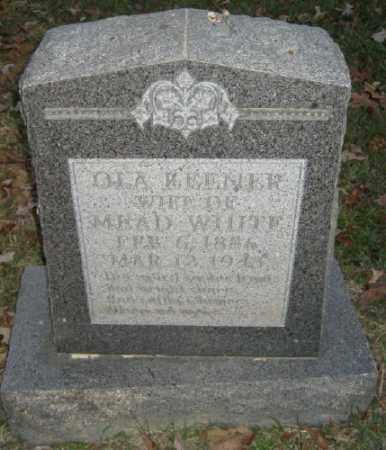 WHITE, OLA - Ashley County, Arkansas   OLA WHITE - Arkansas Gravestone Photos