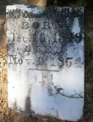 WHITE, PICKINS (BOTTOM) - Ashley County, Arkansas   PICKINS (BOTTOM) WHITE - Arkansas Gravestone Photos