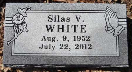 WHITE, SILAS V - Ashley County, Arkansas | SILAS V WHITE - Arkansas Gravestone Photos