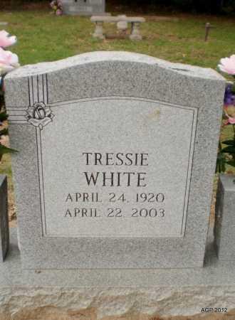 WHITE, TRESSIE - Ashley County, Arkansas   TRESSIE WHITE - Arkansas Gravestone Photos