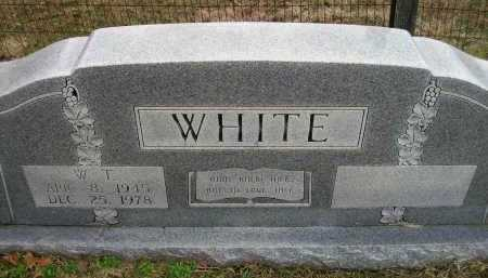 WHITE, W T - Ashley County, Arkansas | W T WHITE - Arkansas Gravestone Photos