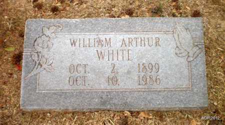 WHITE, WILLIAM ARTHUR - Ashley County, Arkansas | WILLIAM ARTHUR WHITE - Arkansas Gravestone Photos