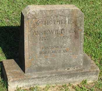 WHITLOCK, ANNIE - Ashley County, Arkansas   ANNIE WHITLOCK - Arkansas Gravestone Photos
