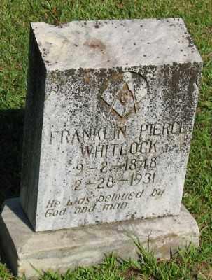 WHITLOCK, FRANKLIN PIERCE - Ashley County, Arkansas | FRANKLIN PIERCE WHITLOCK - Arkansas Gravestone Photos