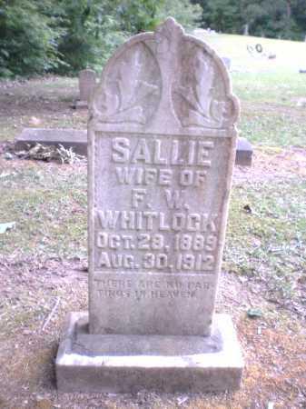 WHITLOCK, SALLIE - Ashley County, Arkansas | SALLIE WHITLOCK - Arkansas Gravestone Photos