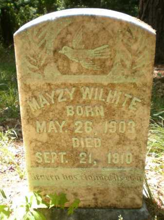 WILHITE, MAYZY - Ashley County, Arkansas | MAYZY WILHITE - Arkansas Gravestone Photos