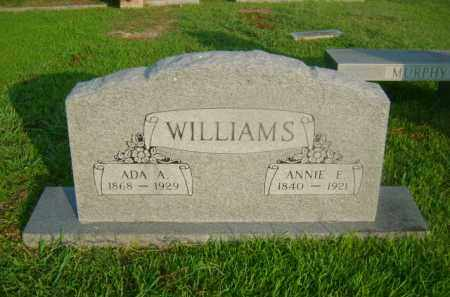 WILLIAMS, ADA A - Ashley County, Arkansas | ADA A WILLIAMS - Arkansas Gravestone Photos