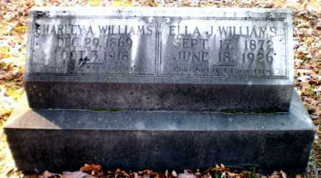 WILLIAMS, CHARLEY A - Ashley County, Arkansas | CHARLEY A WILLIAMS - Arkansas Gravestone Photos