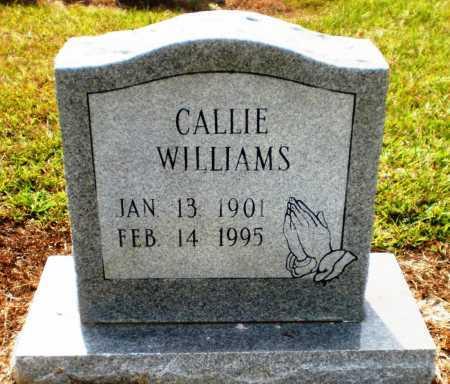 WILLIAMS, CALLIE - Ashley County, Arkansas | CALLIE WILLIAMS - Arkansas Gravestone Photos