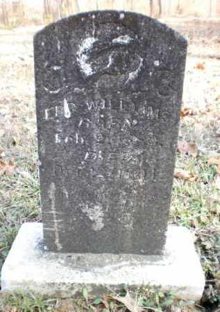 WILLIAMS, EBB - Ashley County, Arkansas | EBB WILLIAMS - Arkansas Gravestone Photos