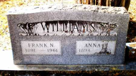 WILLIAMS, FRANK N - Ashley County, Arkansas | FRANK N WILLIAMS - Arkansas Gravestone Photos