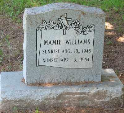 WILLIAMS, MAMIE - Ashley County, Arkansas | MAMIE WILLIAMS - Arkansas Gravestone Photos