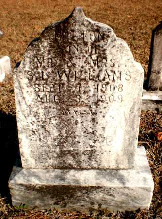 WILLIAMS, MILTON - Ashley County, Arkansas   MILTON WILLIAMS - Arkansas Gravestone Photos