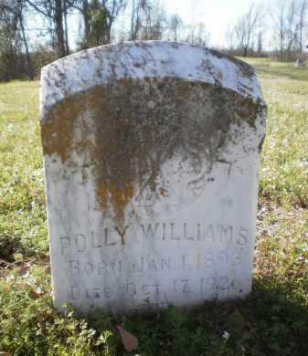WILLIAMS, POLLY - Ashley County, Arkansas   POLLY WILLIAMS - Arkansas Gravestone Photos