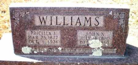 WILLIAMS, PRICILLA J - Ashley County, Arkansas | PRICILLA J WILLIAMS - Arkansas Gravestone Photos