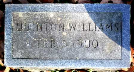WILLIAMS, QUINTON - Ashley County, Arkansas | QUINTON WILLIAMS - Arkansas Gravestone Photos